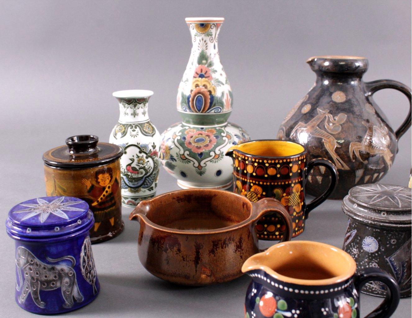 Keramik Konvolut