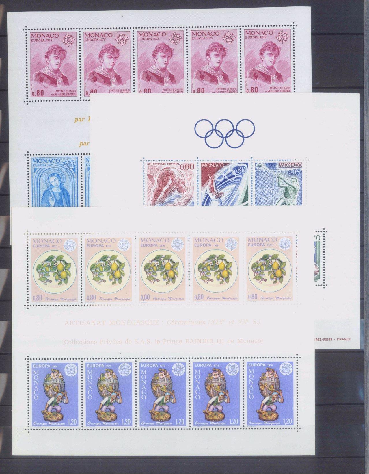 MONACO 1953-1989, Katalogwert 970,- Euro-1