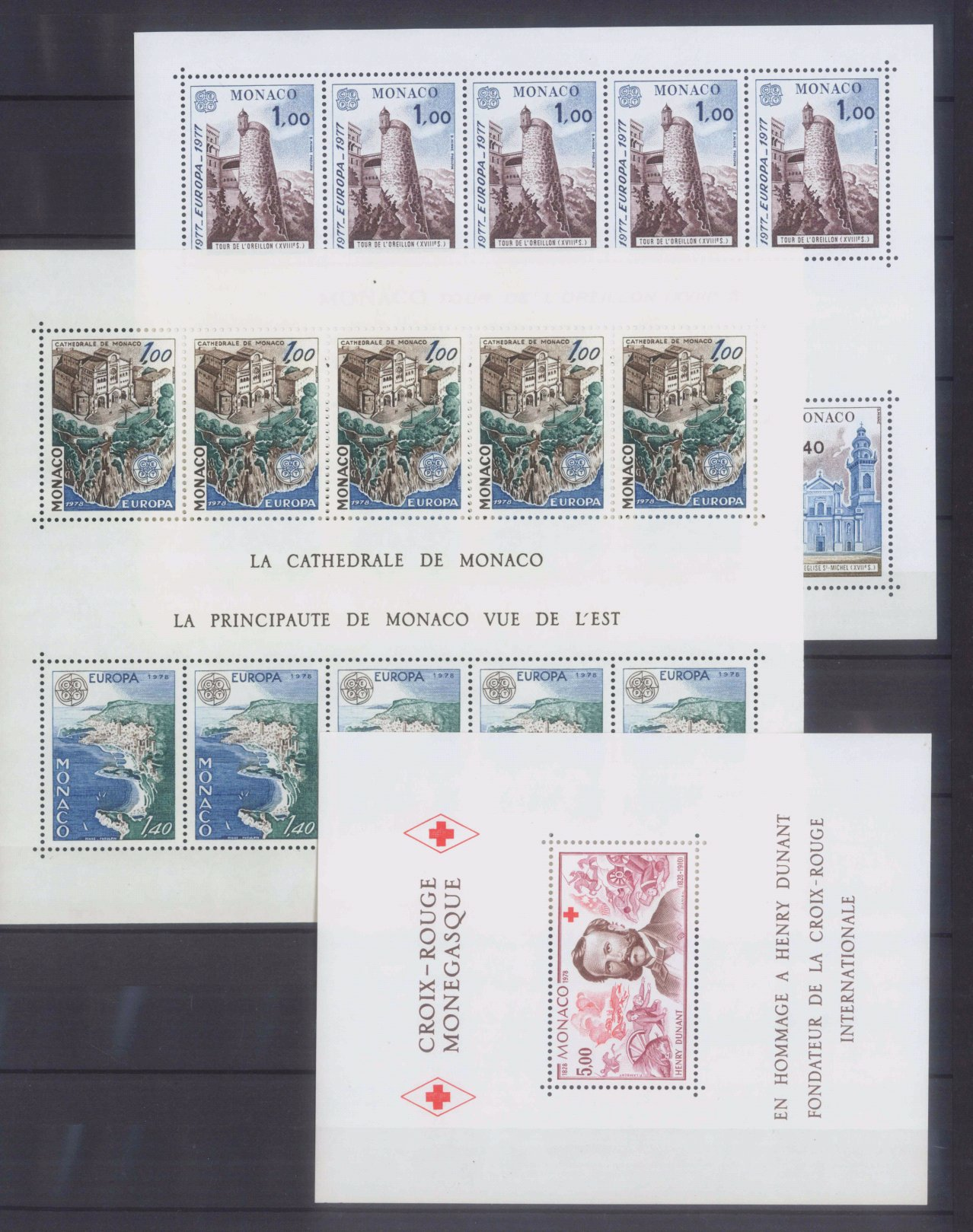 MONACO 1953-1989, Katalogwert 970,- Euro-2