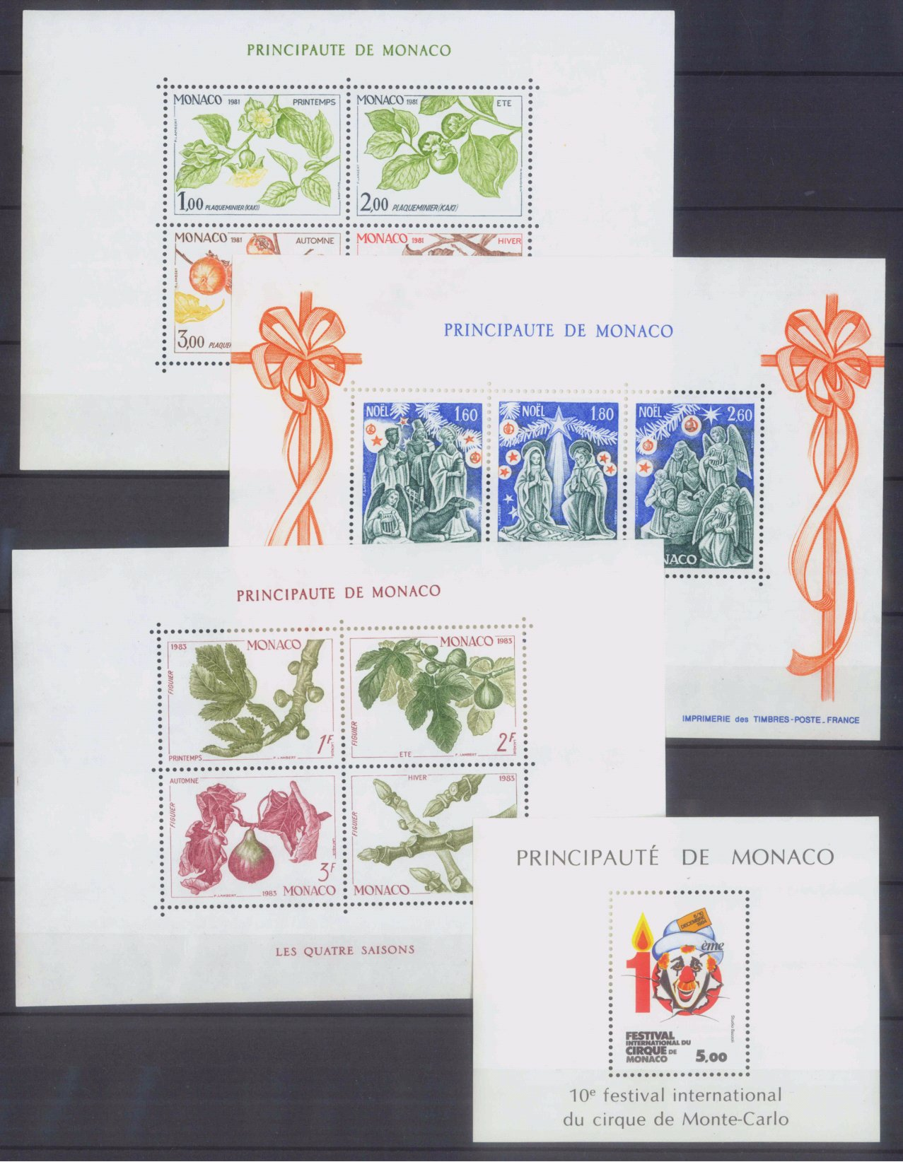 MONACO 1953-1989, Katalogwert 970,- Euro-4