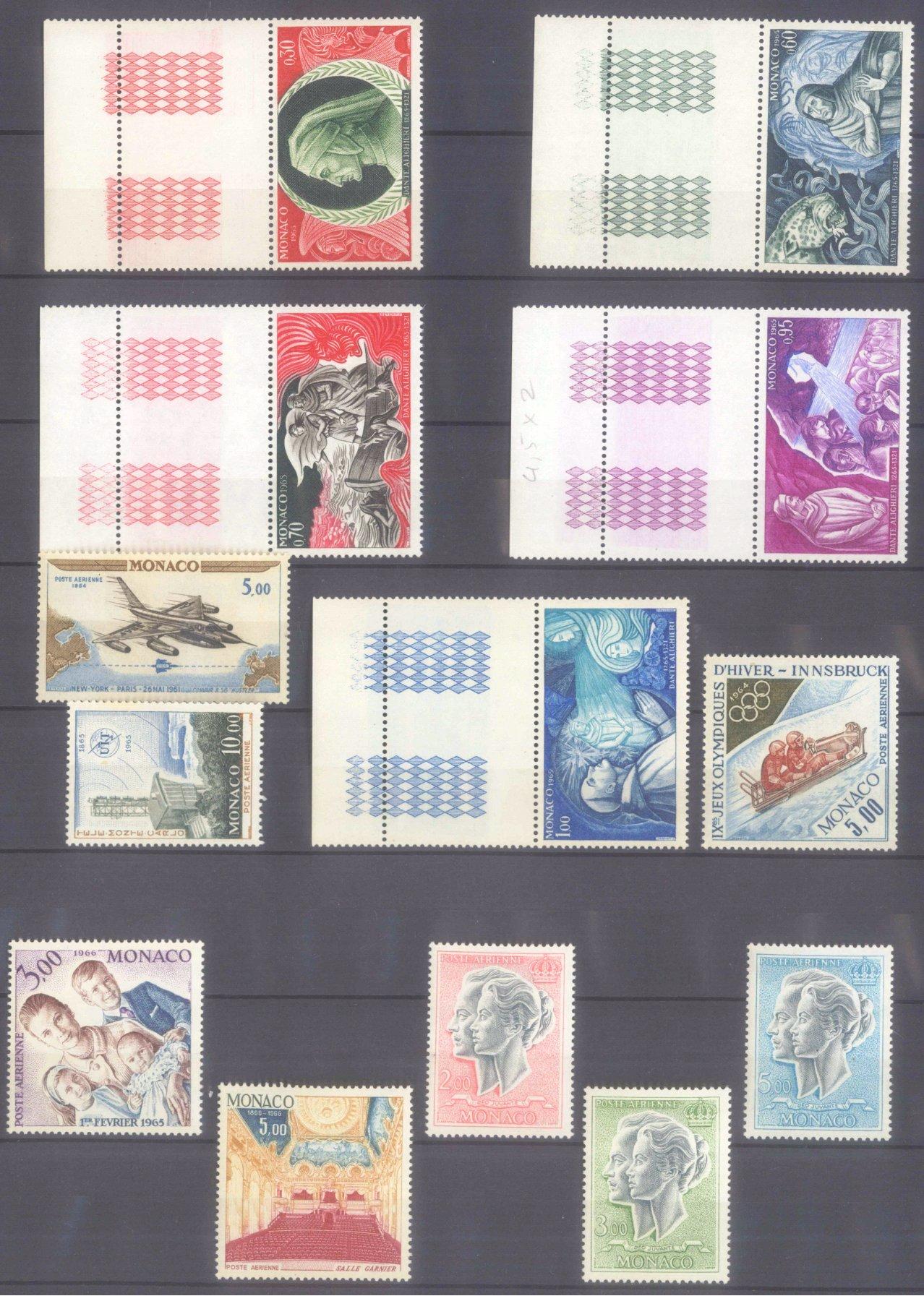 MONACO 1953-1989, Katalogwert 970,- Euro-7