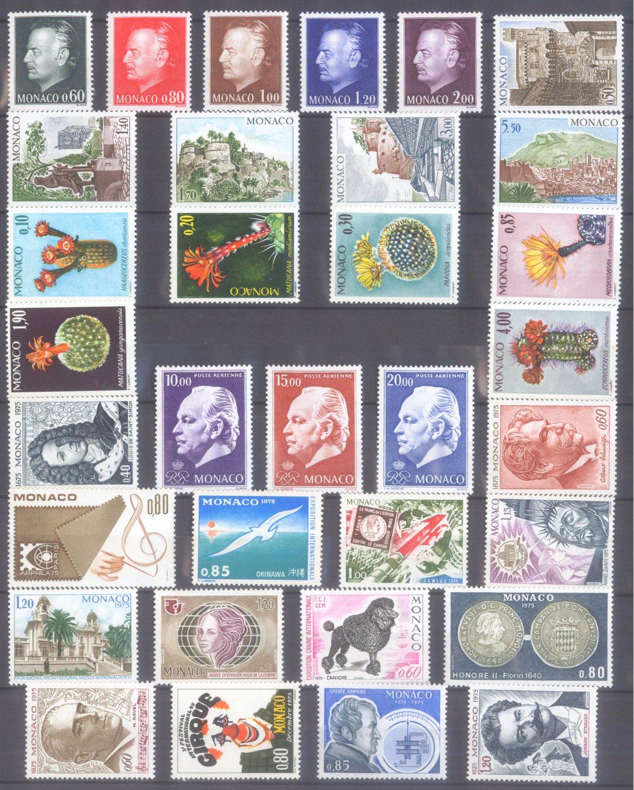 MONACO 1953-1989, Katalogwert 970,- Euro-9
