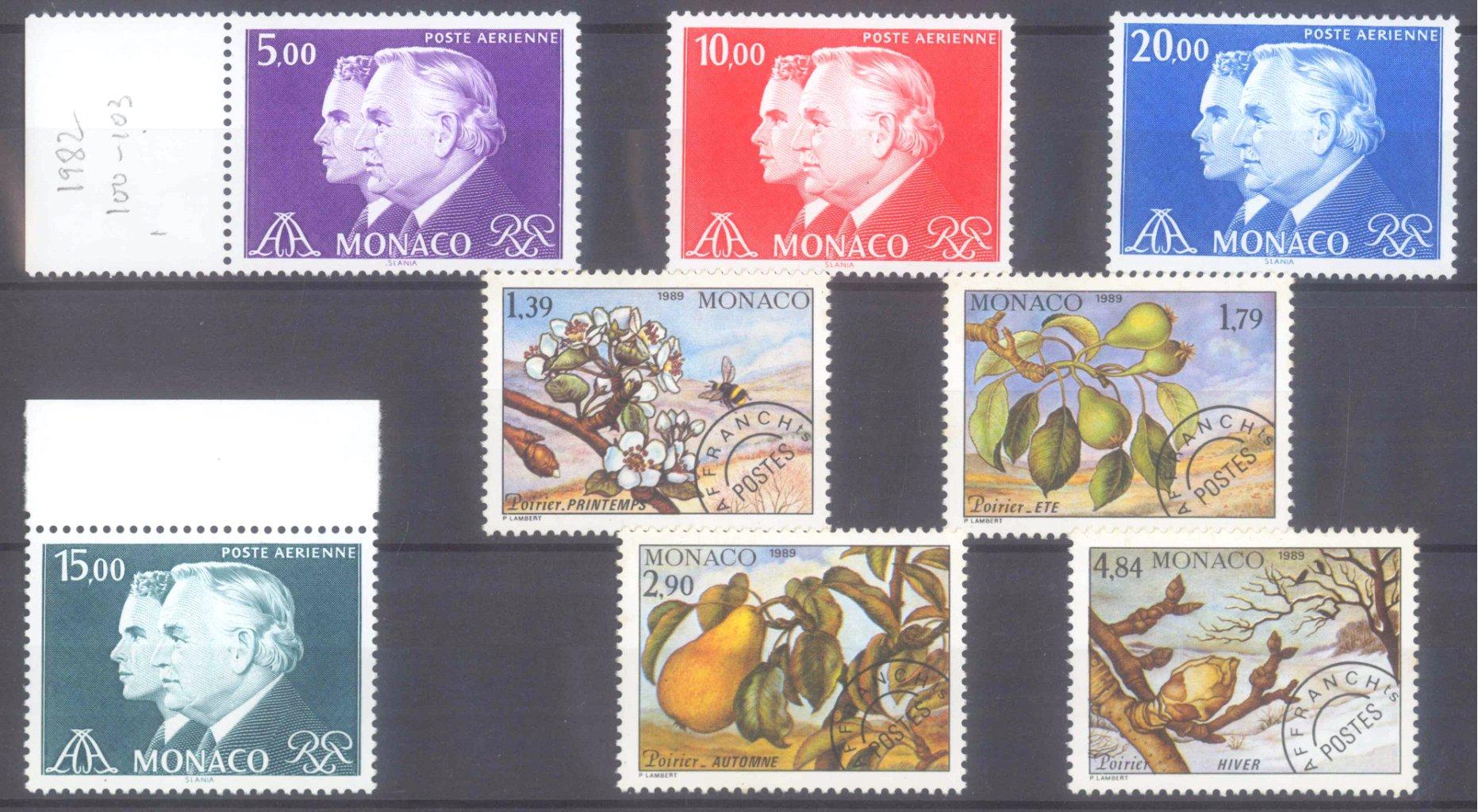 MONACO 1953-1989, Katalogwert 970,- Euro-12