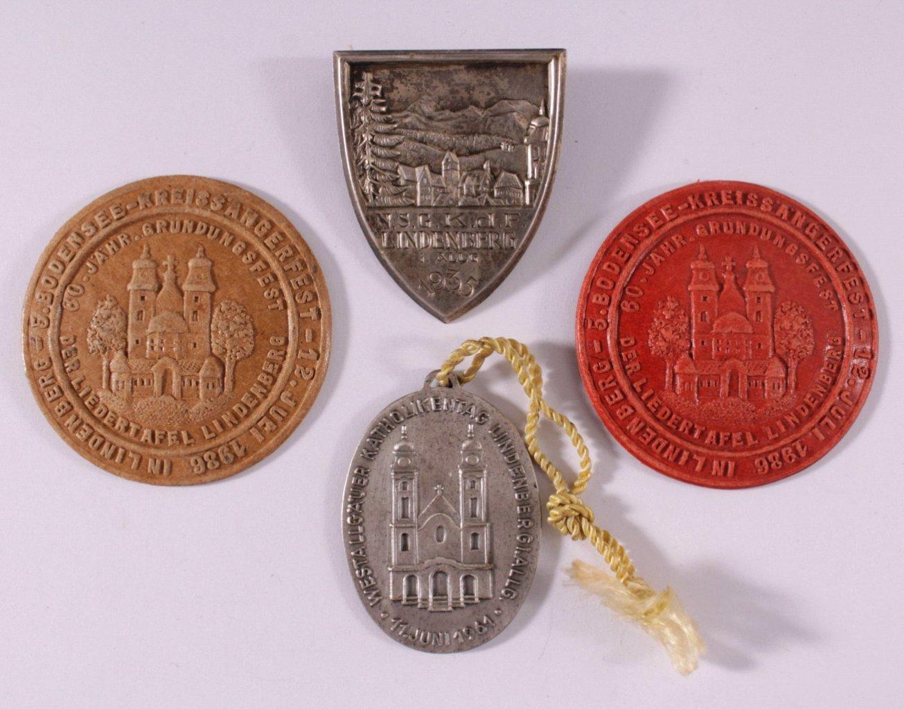 Abzeichen und Medaillen Lindenberg