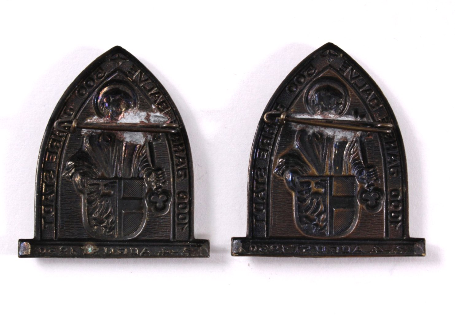 2 Veranstaltungsabzeichen 1000 Jahre Balve-1