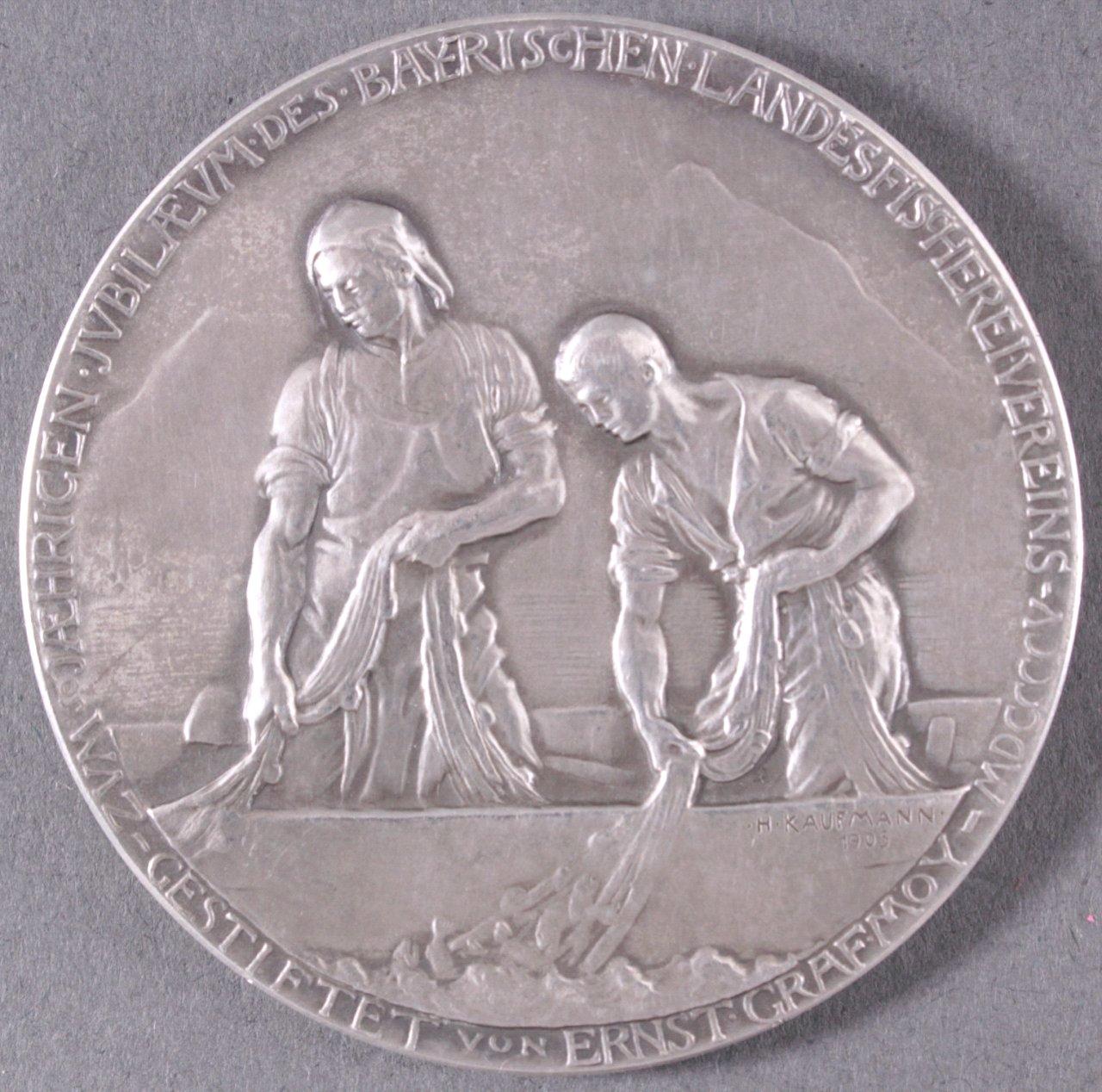 Medaille Bayerischer Landesfischereiverein 1905