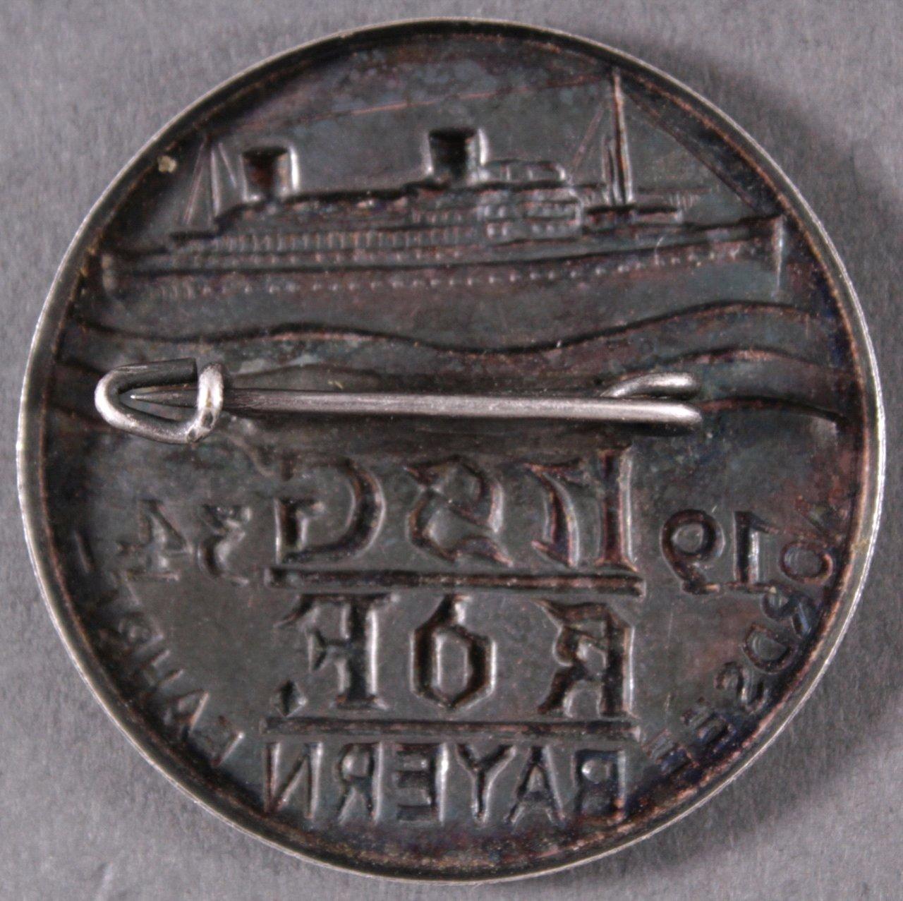 Abzeichen NSG KdF Bayern, Nordseefahrt 1934-1