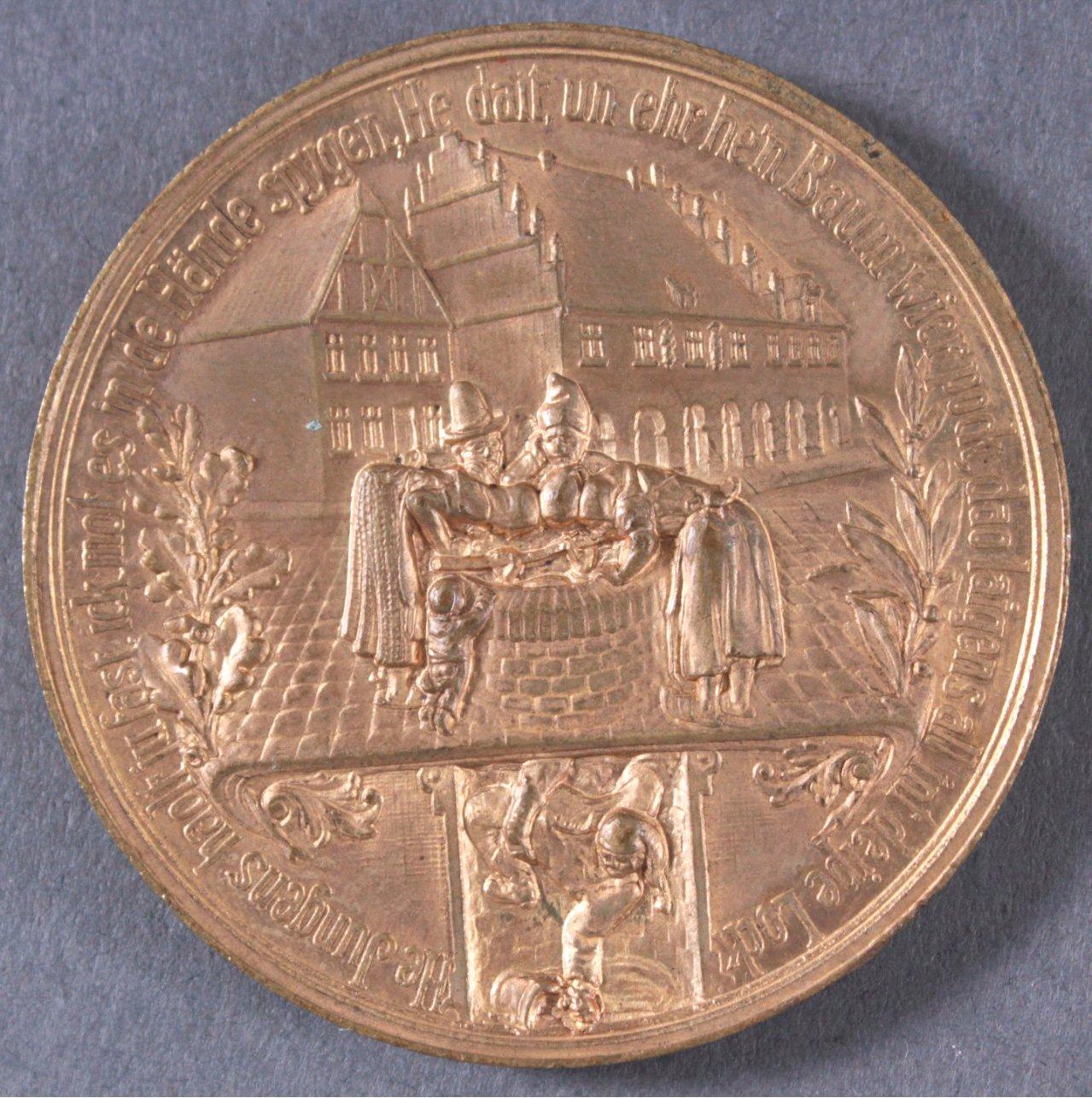 Medaille 700 Jahre Stadt Beckum 1924-1