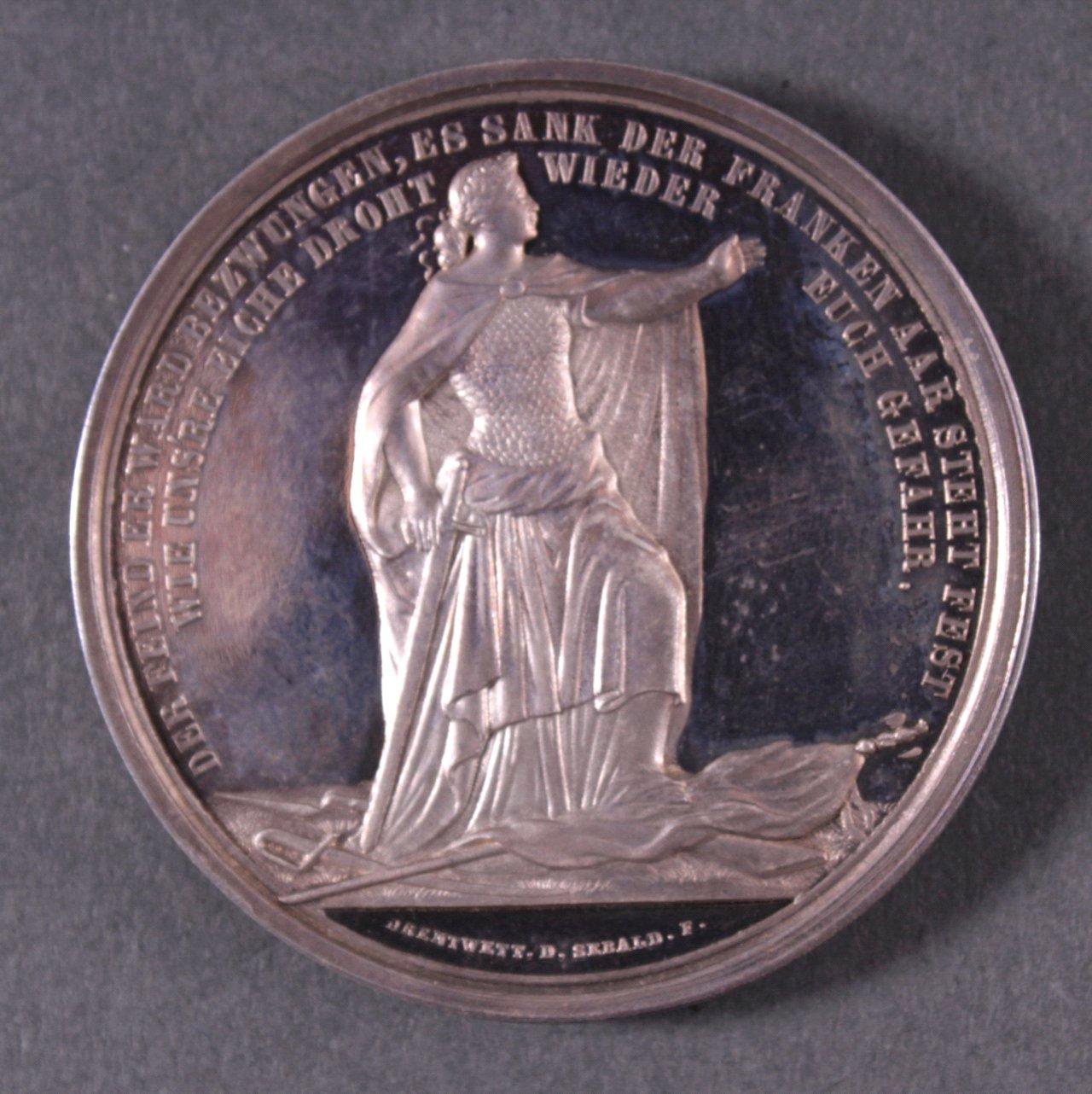 Silber Medaille Fürst Bismarck, 1888