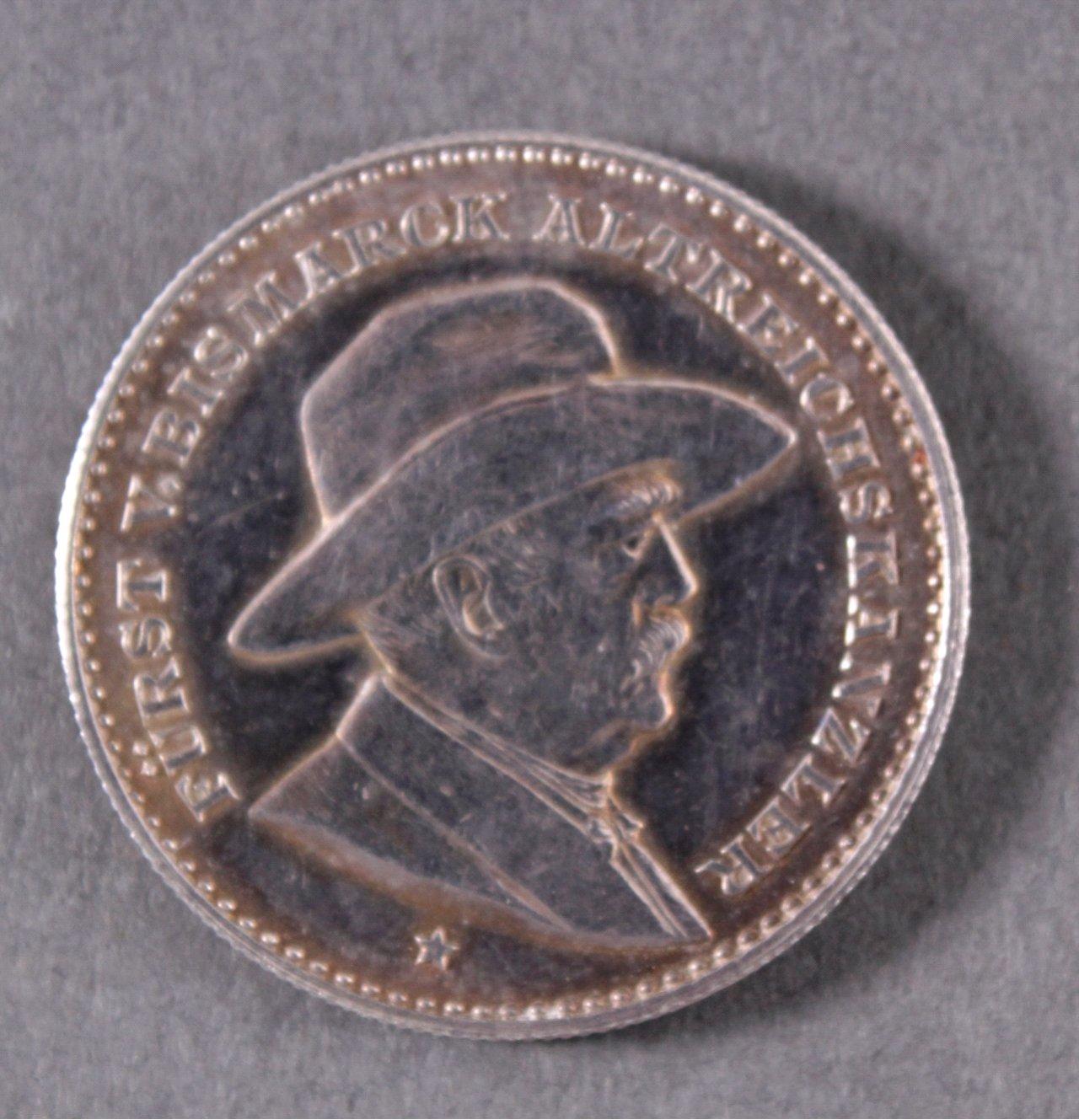 Silber Medaille Fürst Bismarck, 1895