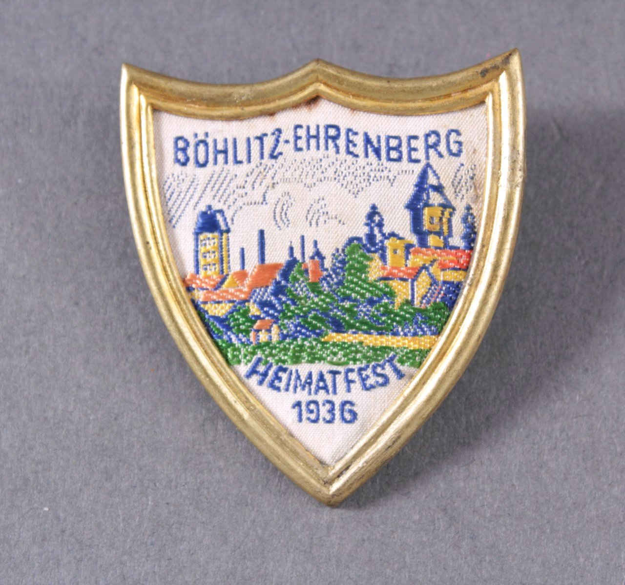 Abzeichen Böhlitz-Ehrenberg Heimatfest 1936