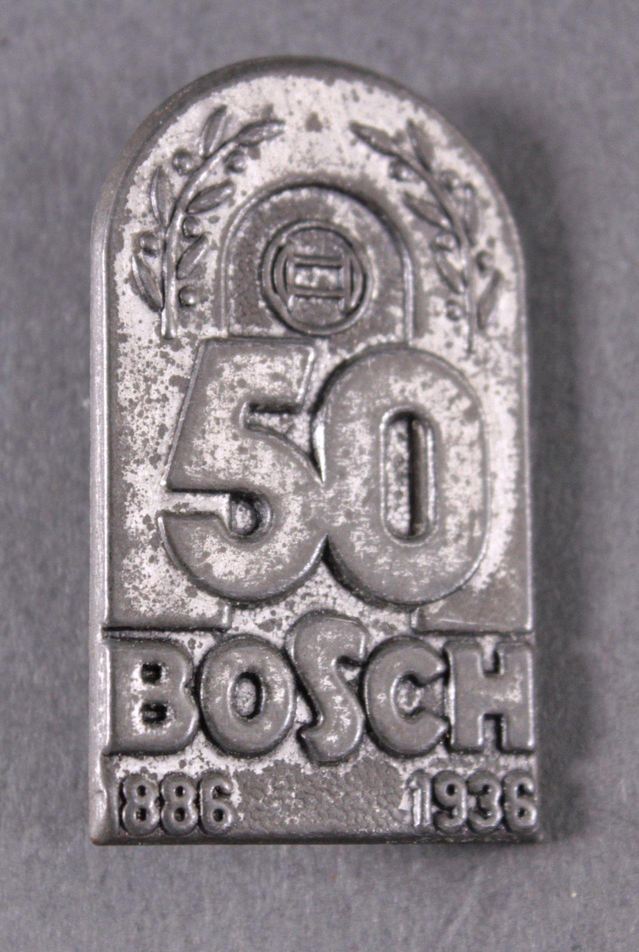 Anstecker, 50 Jahre Bosch 1936