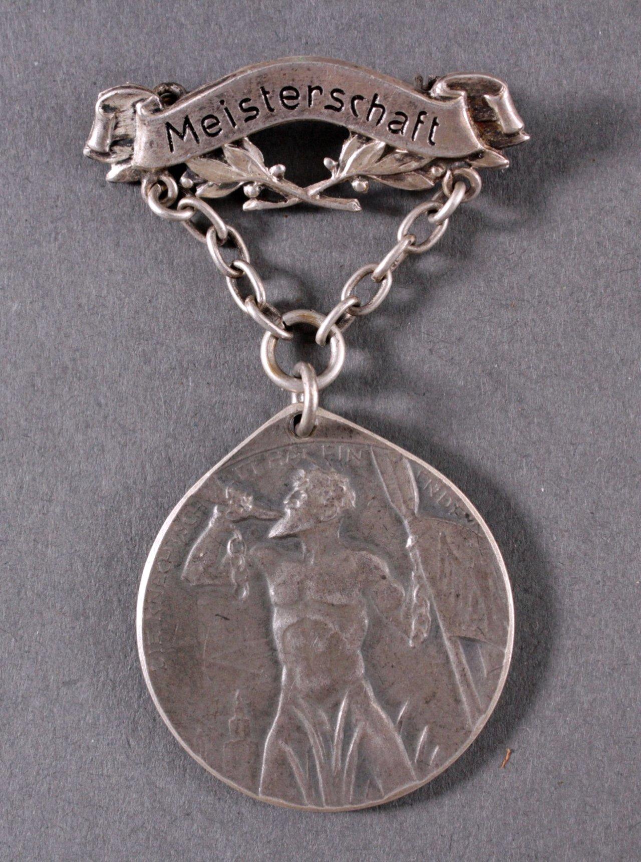 Spange mit Medaille Gaujubiläumsmeisterschaft Breisgau