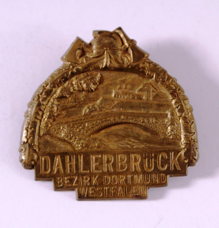 Abzeichen Feuerwehr Dahlerbrück Bezirk Dortmund Westfalen