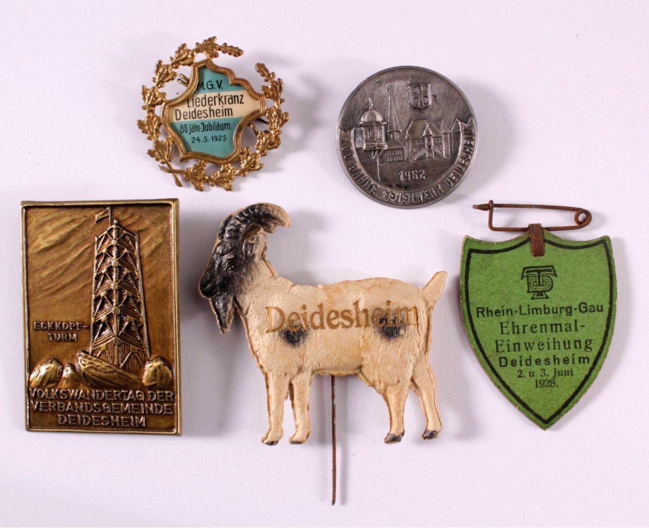 Tagungs- und Veranstaltungsabzeichen Deidesheim