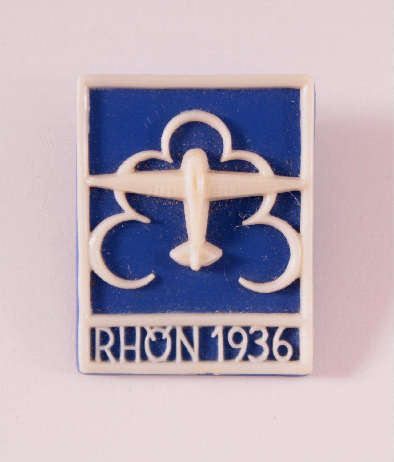 Abzeichen DLV Rhön 1936