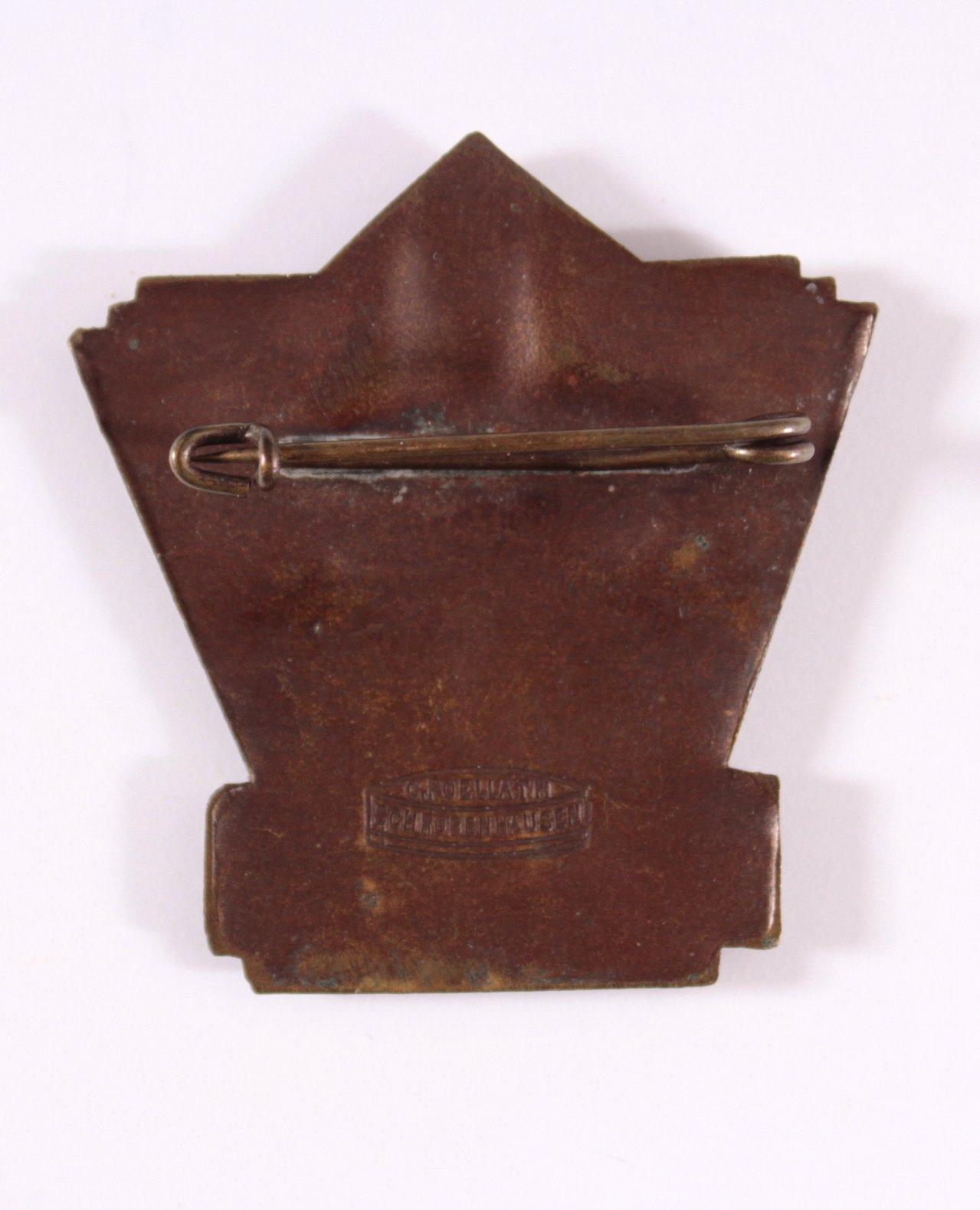 Abzeichen Aufnahme Jahns in die Walhalla 1928-1