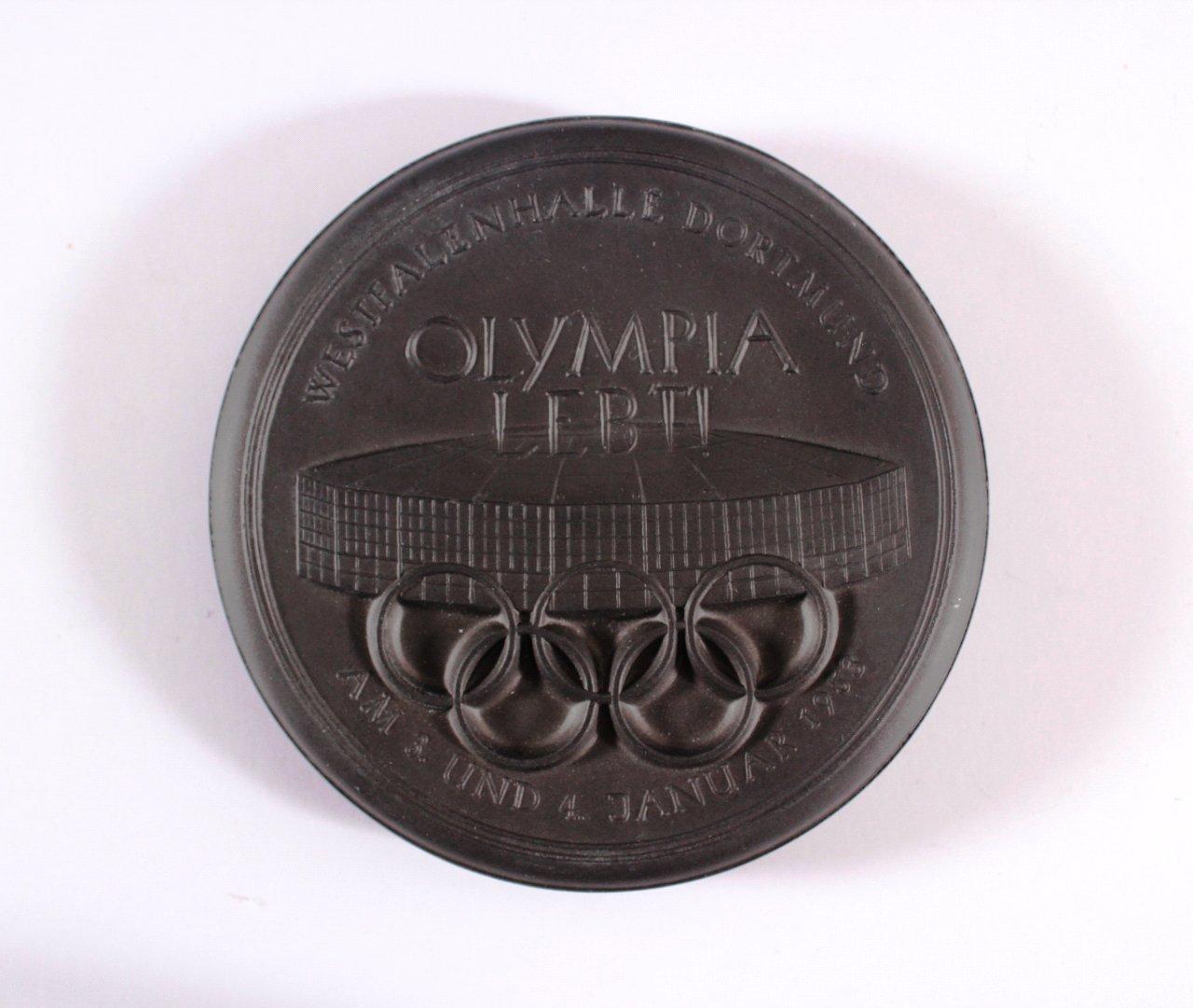 Kohlenmedaille Olympia lebt 1953