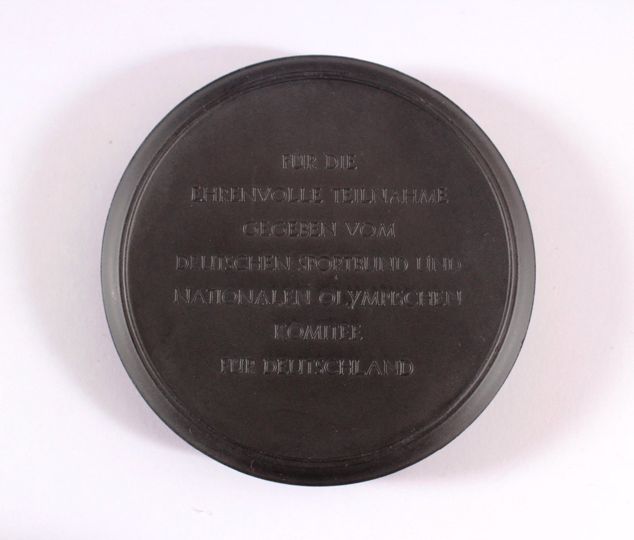 Kohlenmedaille Olympia lebt 1953-1