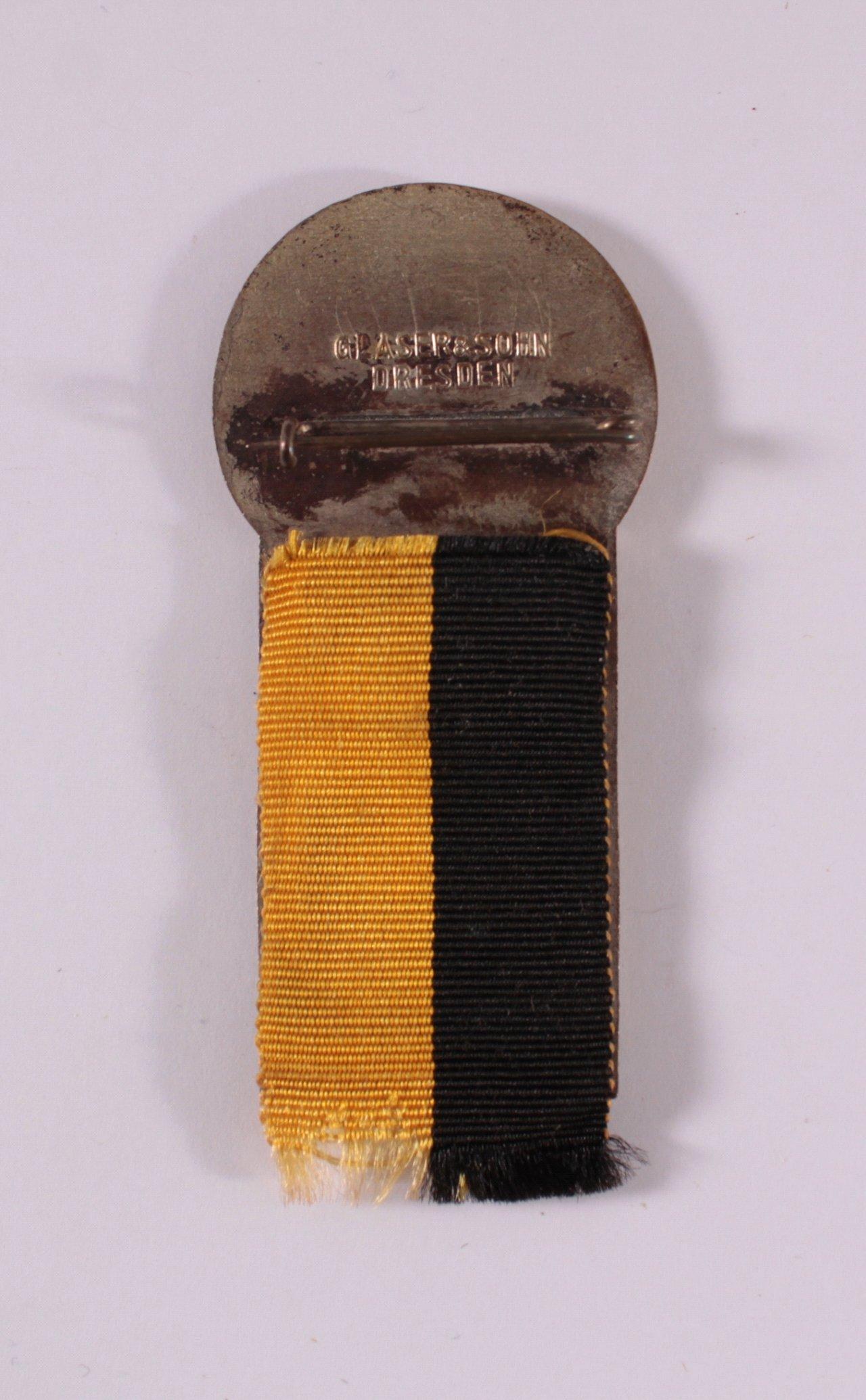 Veranstaltungsabzeichen 43. BDR Bundesfest Dresden 1926-1