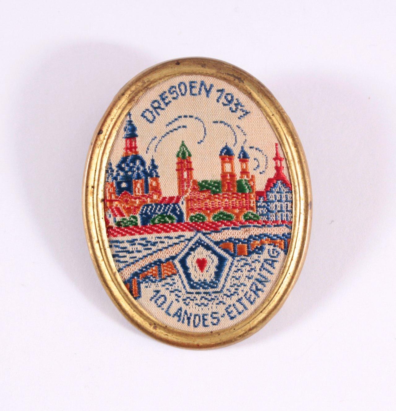 Veranstaltungsabzeichen 10. Landeselterntag Dresden 1931