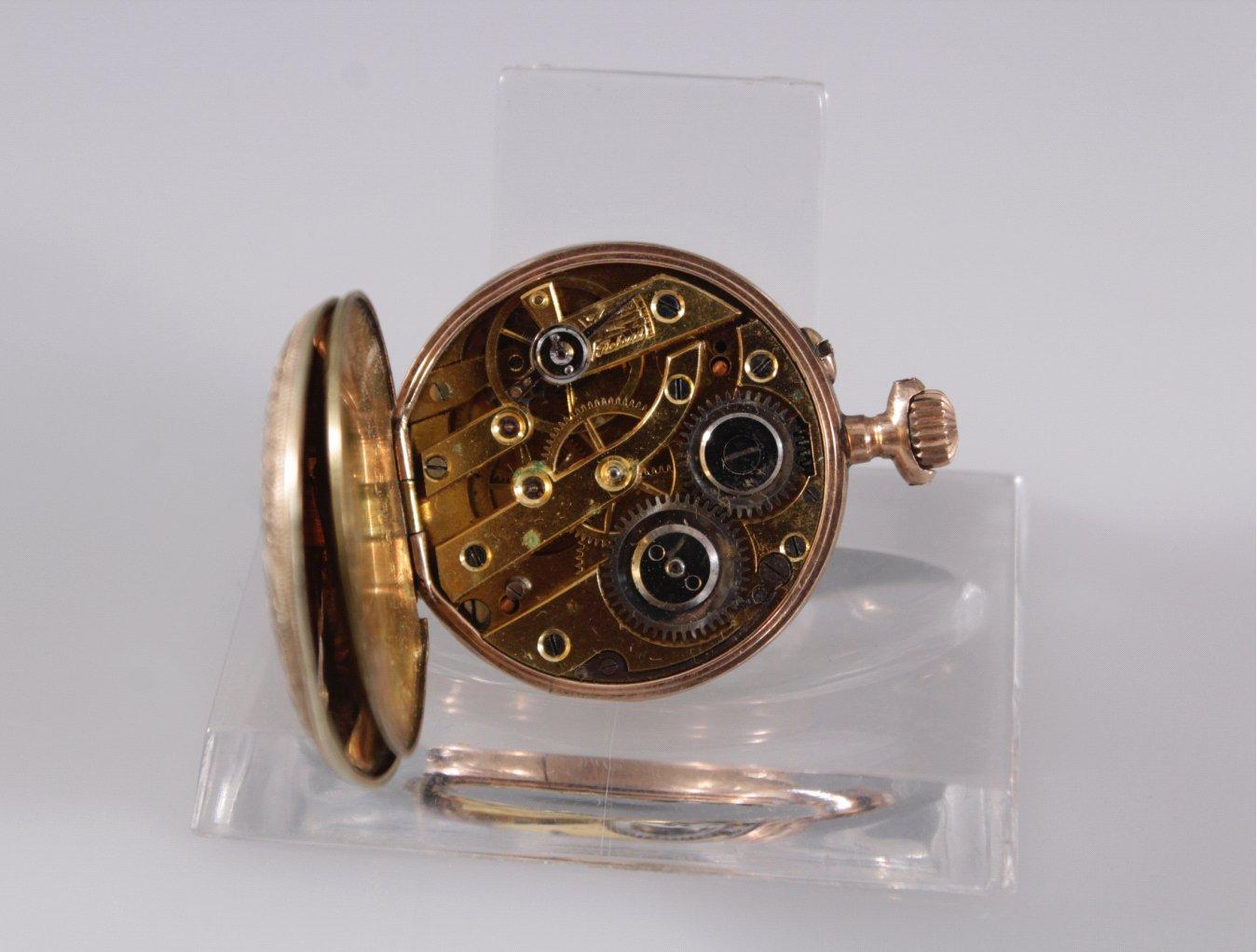 Damen-Taschenuhr um 1900-3