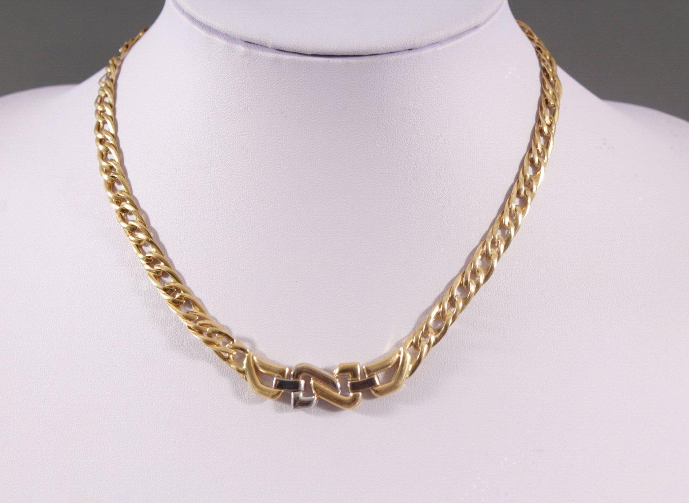 Halskette mit Brillanten