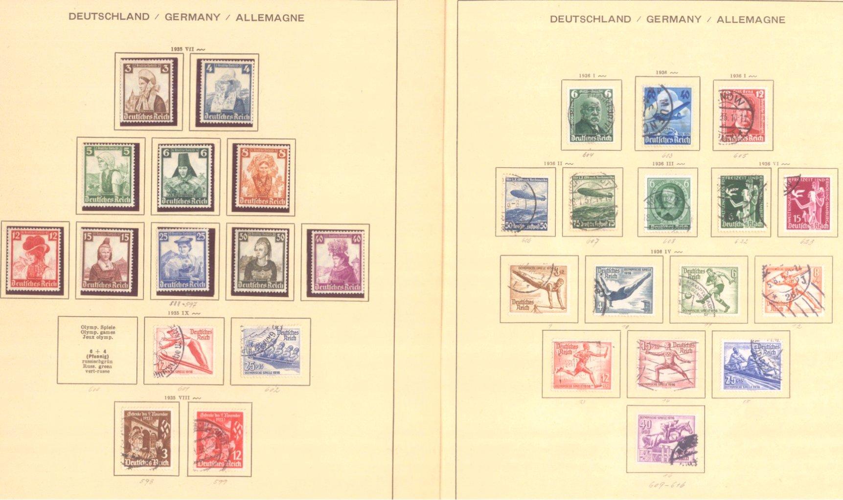 III. REICH 1934 bis 1945, mit OSTROPA – Block-2