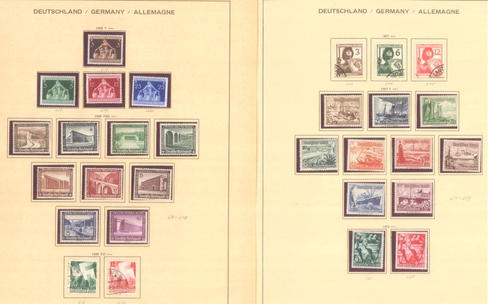 III. REICH 1934 bis 1945, mit OSTROPA – Block-3