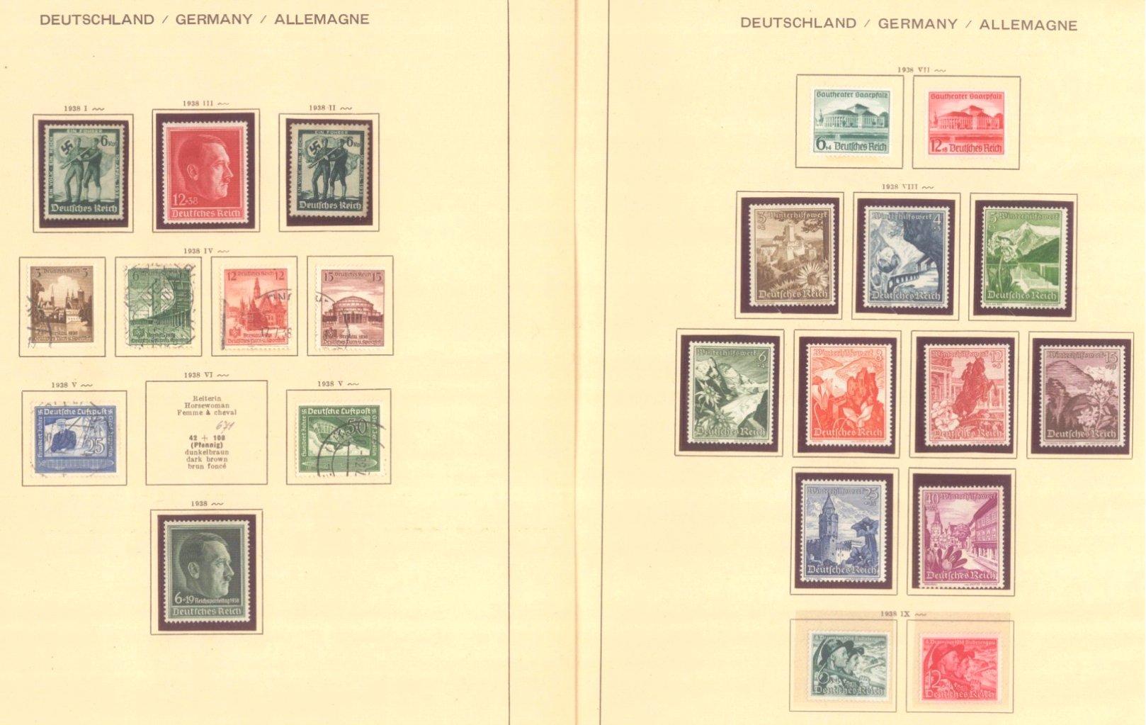 III. REICH 1934 bis 1945, mit OSTROPA – Block-4