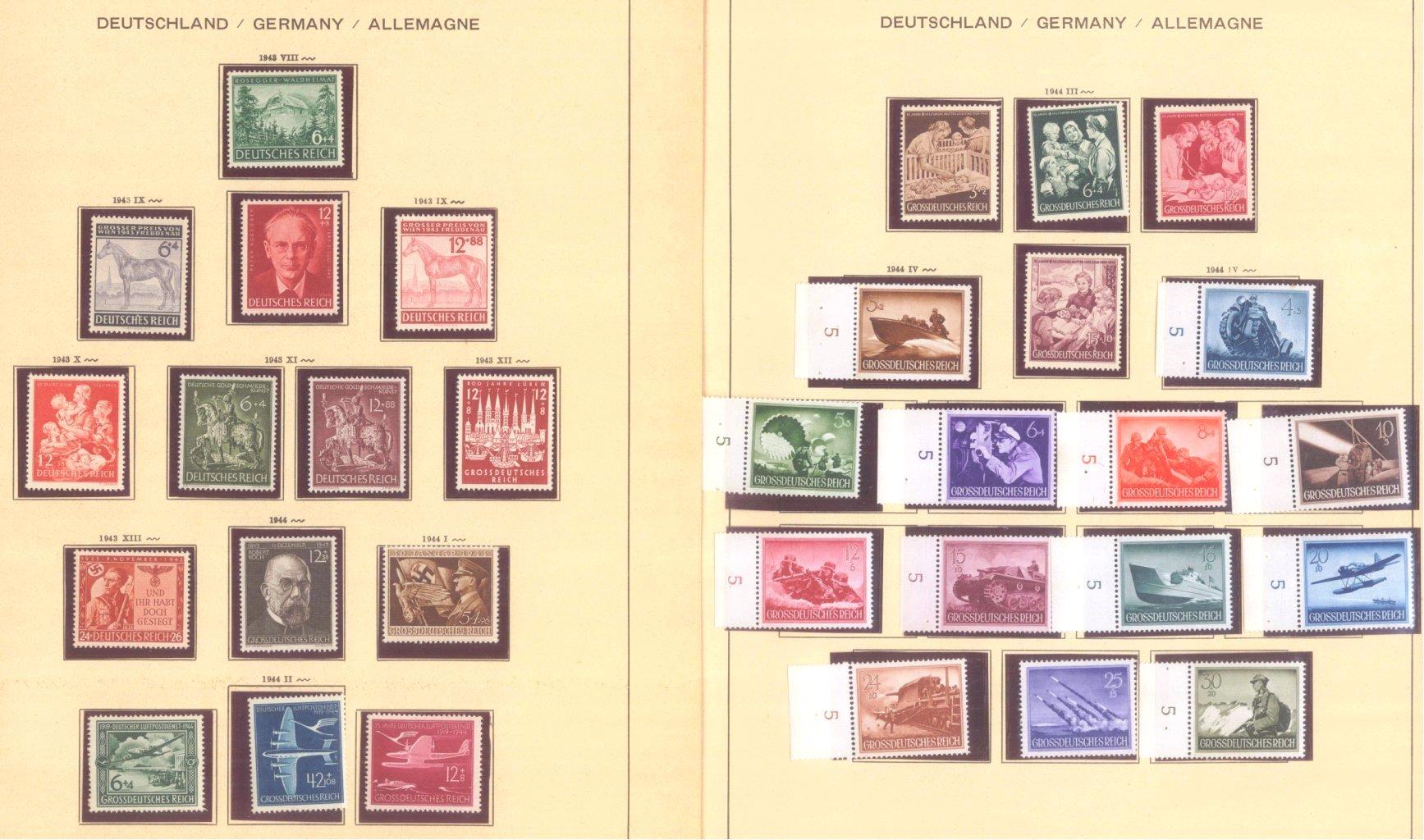 III. REICH 1934 bis 1945, mit OSTROPA – Block-12