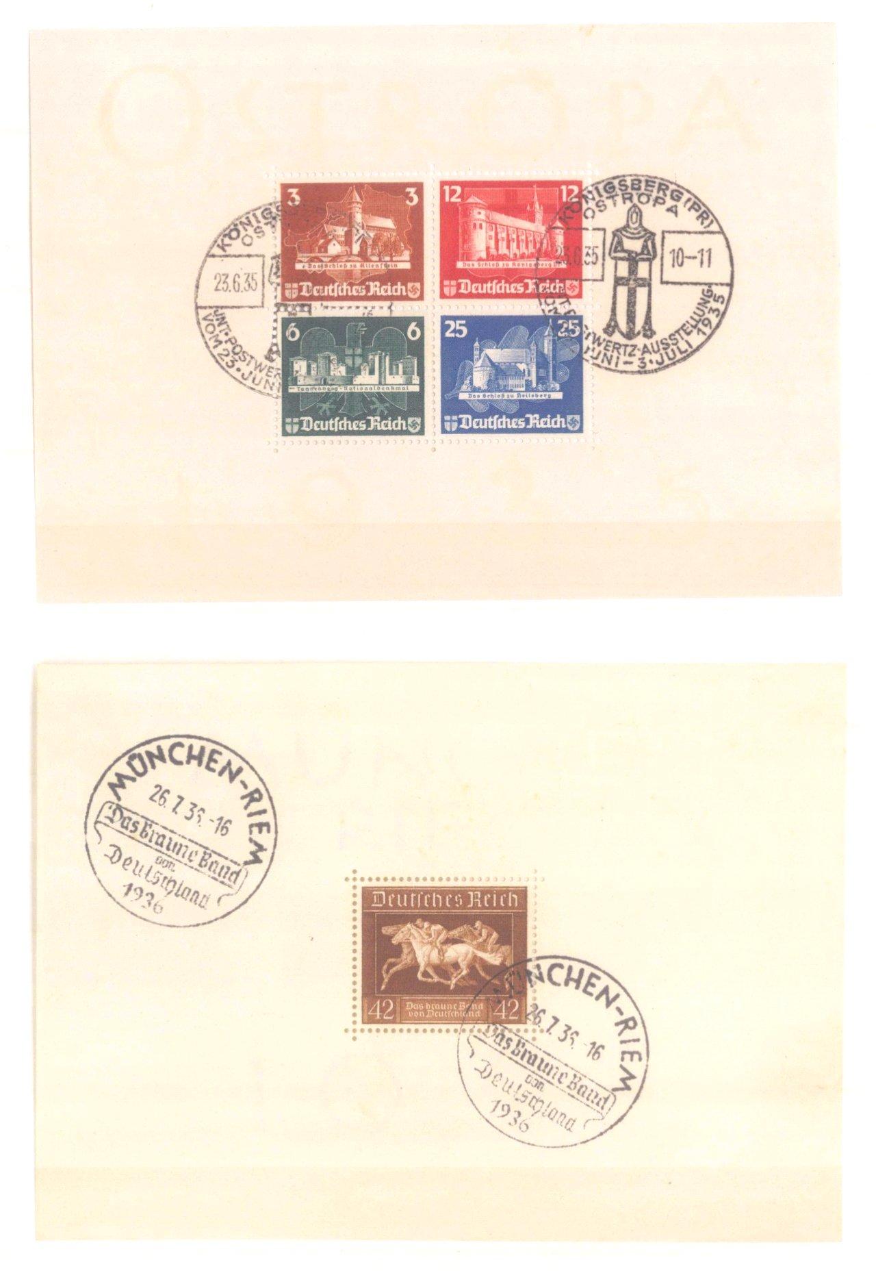 III. REICH 1934 bis 1945, mit OSTROPA – Block-13