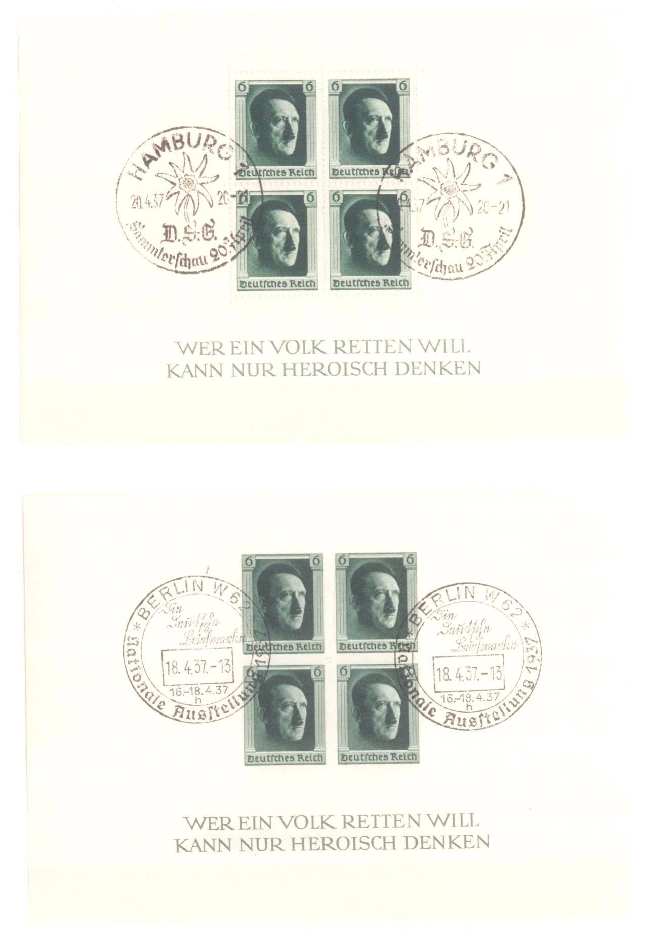 III. REICH 1934 bis 1945, mit OSTROPA – Block-15