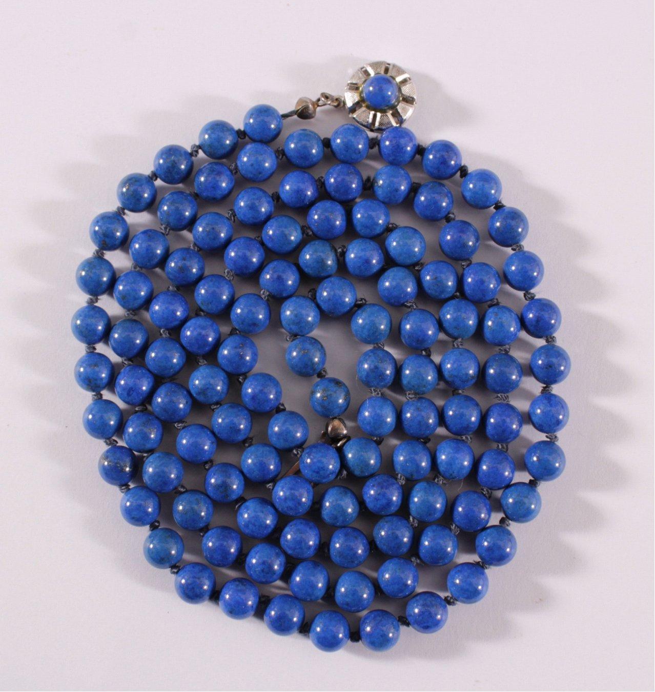 Damen-Halskette aus Lapislazuli