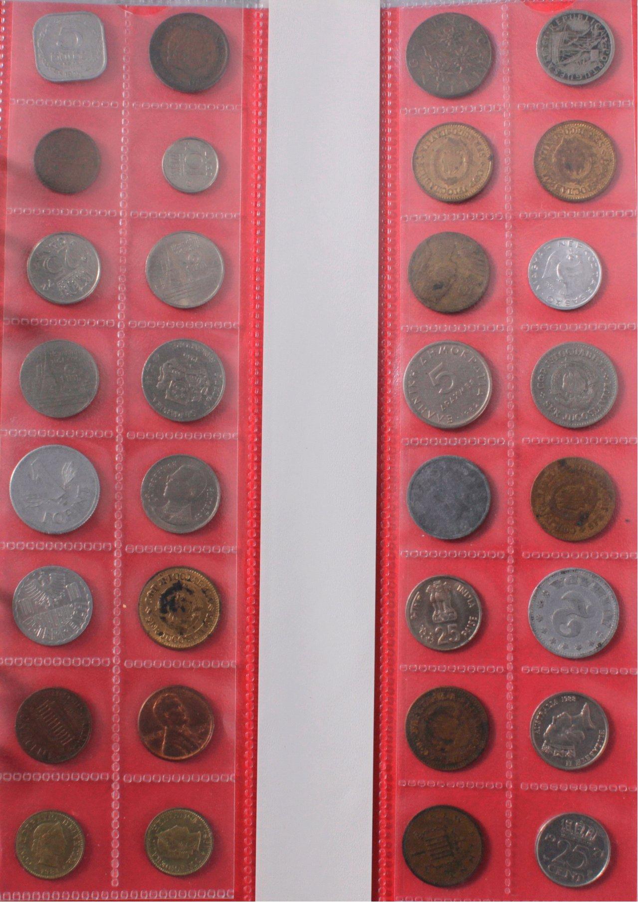 2 Alben Kleinmünzen Alle Welt, dabei auch China-1