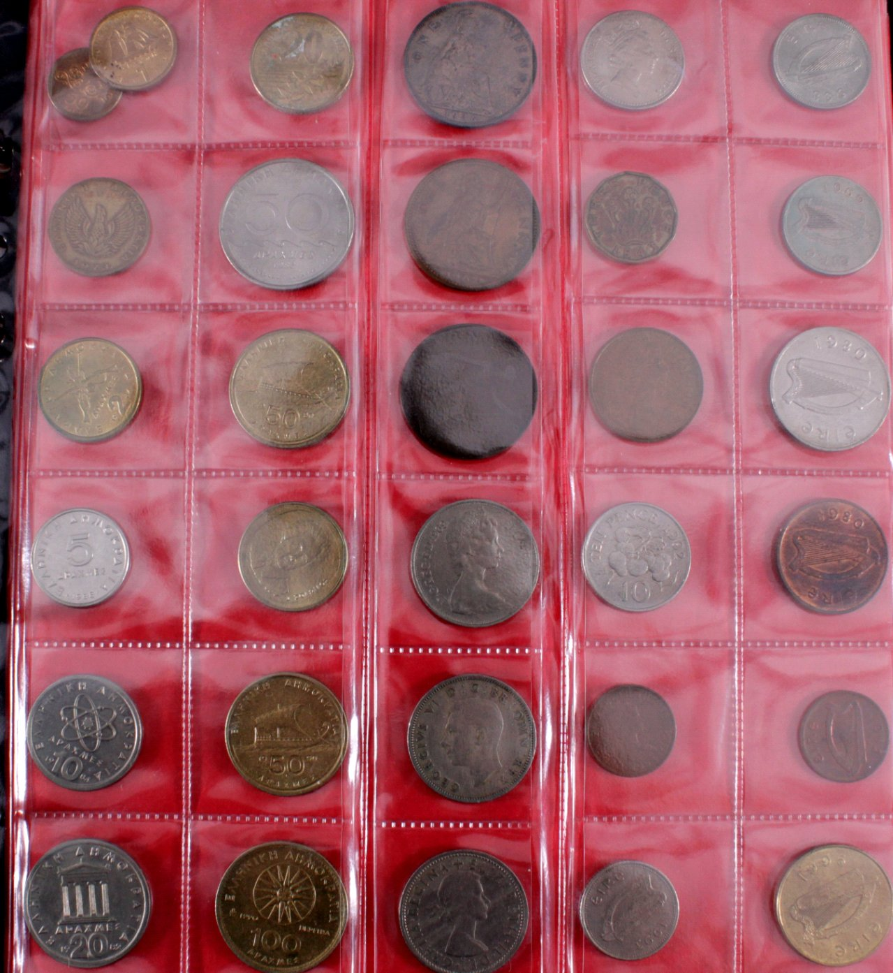 2 Alben Kleinmünzen Alle Welt, dabei auch China-2