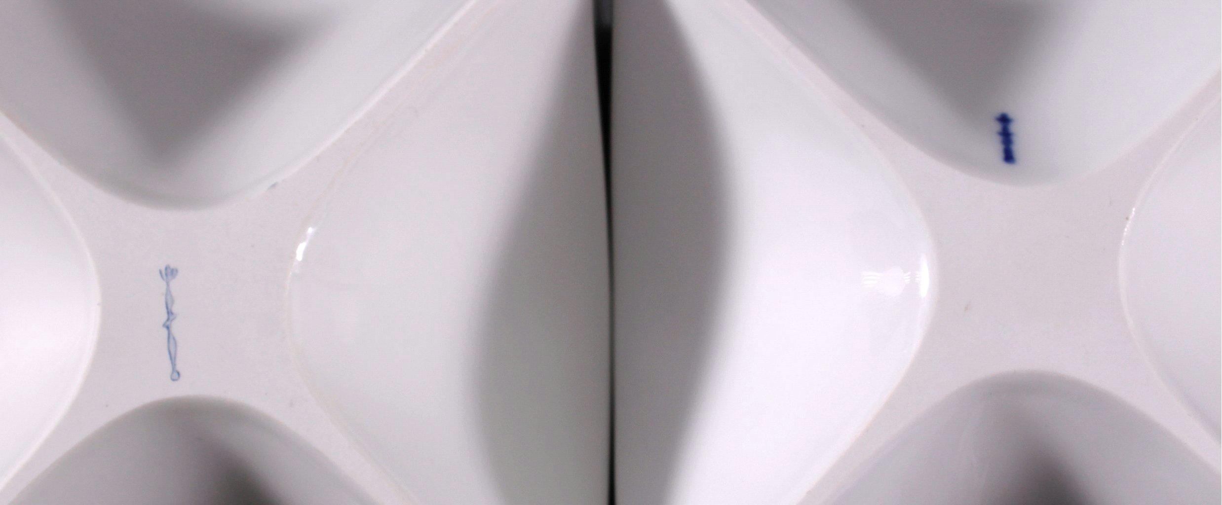 KPM Würfelvase/Leuchter, Design Quillmann-1