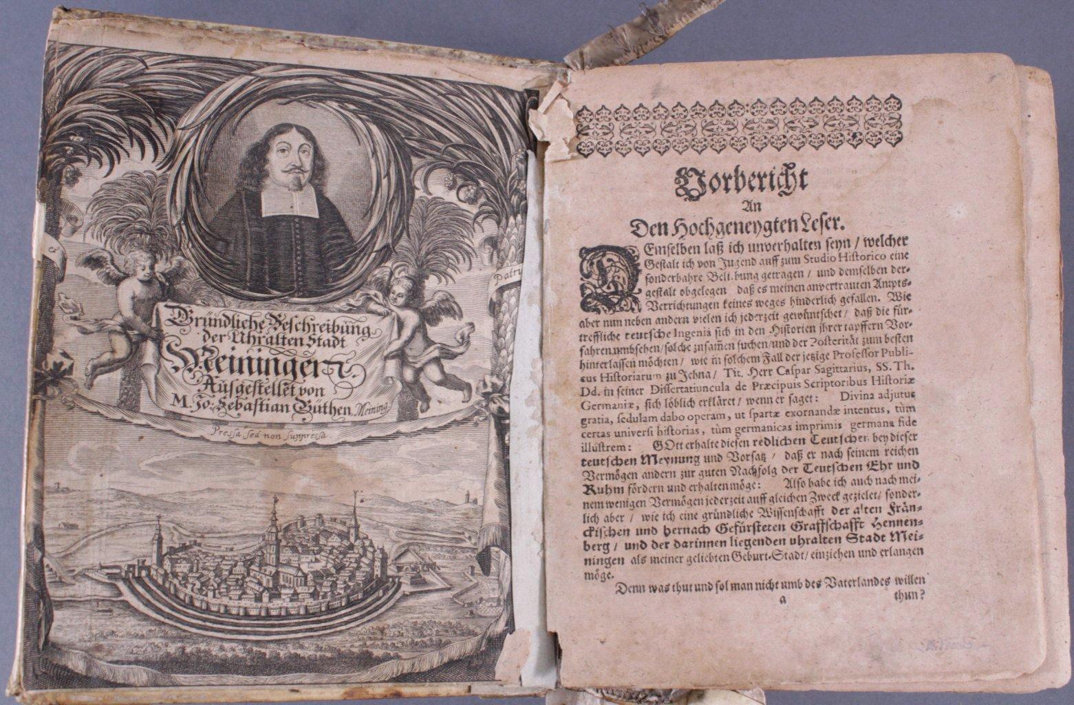 4 Bücher aus dem 16. und 17. Jh., Zusammen im ein Buch-1