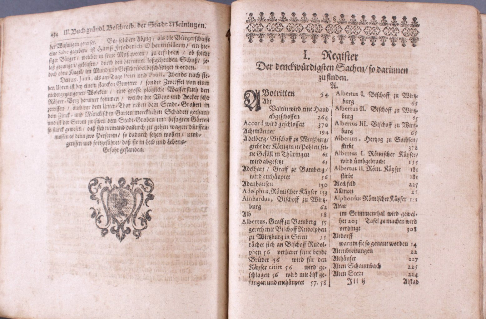 4 Bücher aus dem 16. und 17. Jh., Zusammen im ein Buch-4