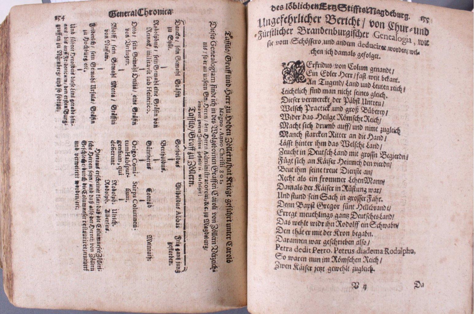 4 Bücher aus dem 16. und 17. Jh., Zusammen im ein Buch-29