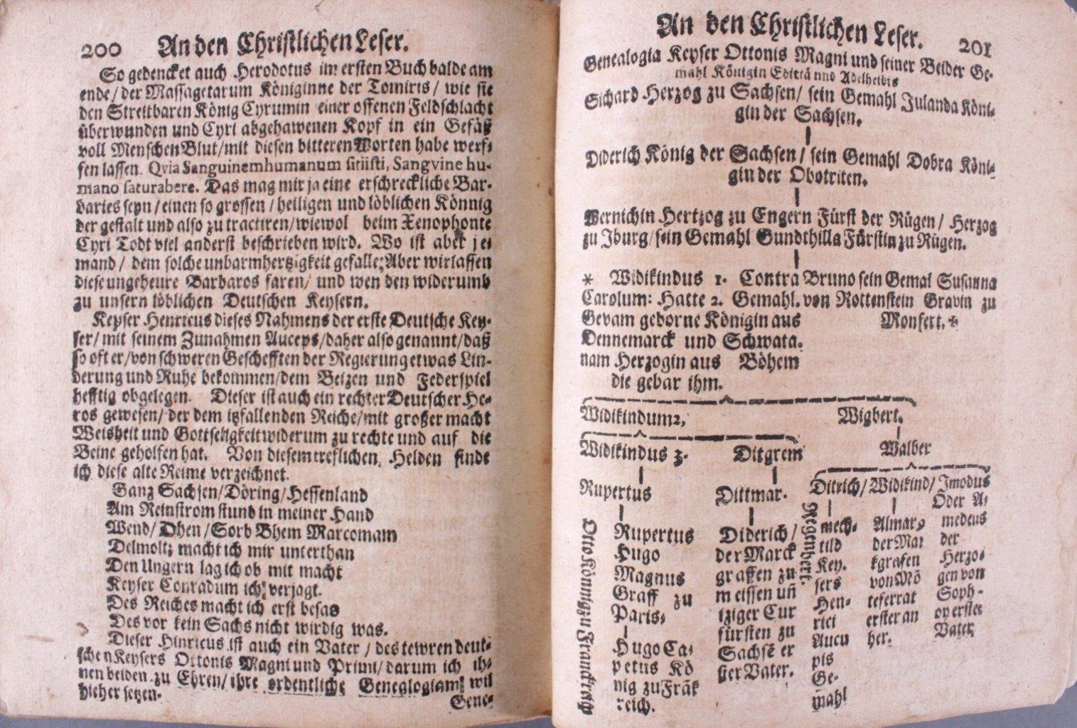 4 Bücher aus dem 16. und 17. Jh., Zusammen im ein Buch-31