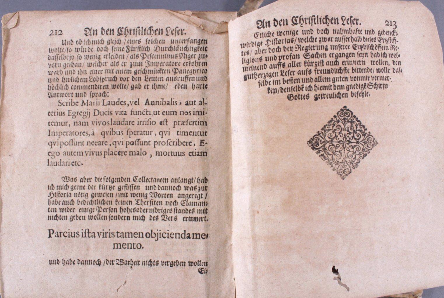 4 Bücher aus dem 16. und 17. Jh., Zusammen im ein Buch-32