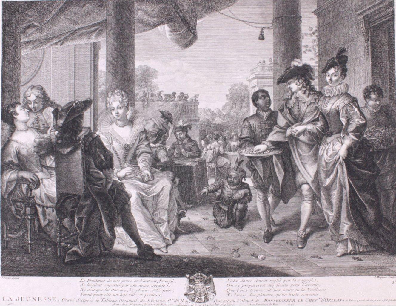 """Jean Moyreau (1690-1762), """"La Jeunesse"""""""