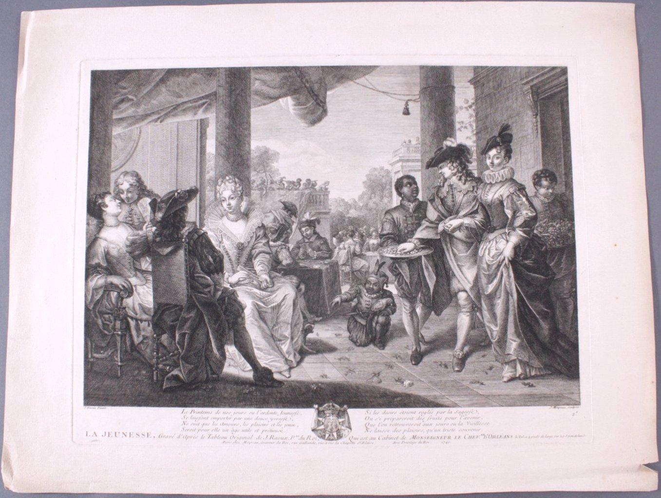"""Jean Moyreau (1690-1762), """"La Jeunesse""""-1"""