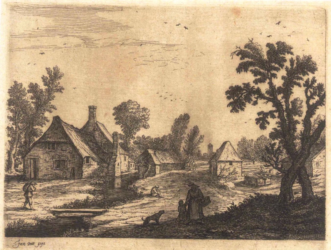 Jan van Goyen (1596 Leiden – 1656 Den Haag)