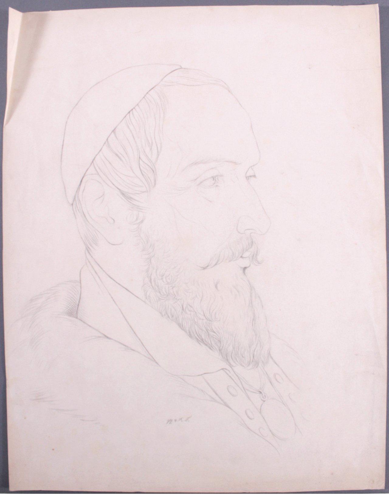 Studie Zeichnung, 19. Jh.-1