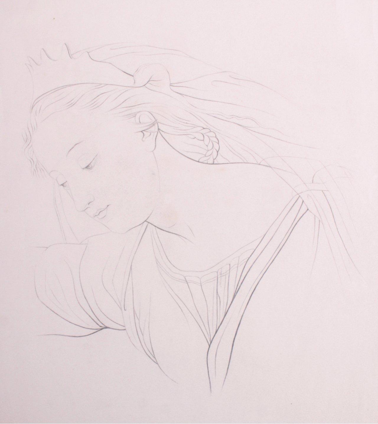 Studie Zeichnung, 19. Jh.