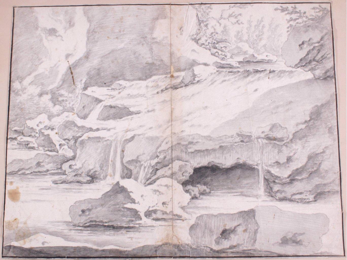 Studie Zeichnung wohl 17. Jh.
