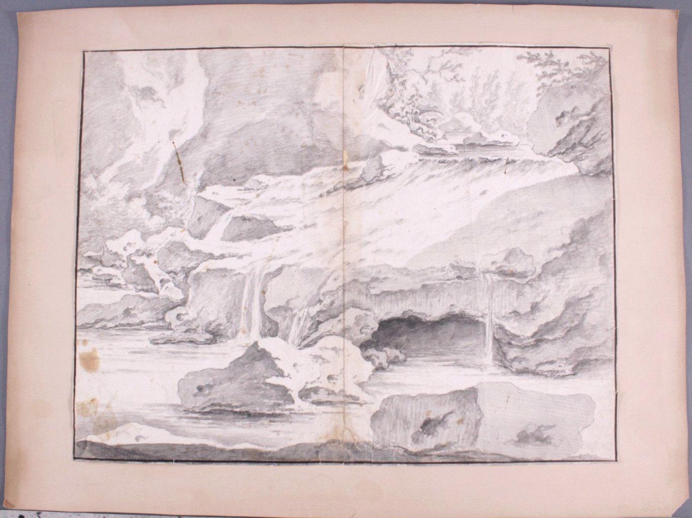 Studie Zeichnung wohl 17. Jh.-1