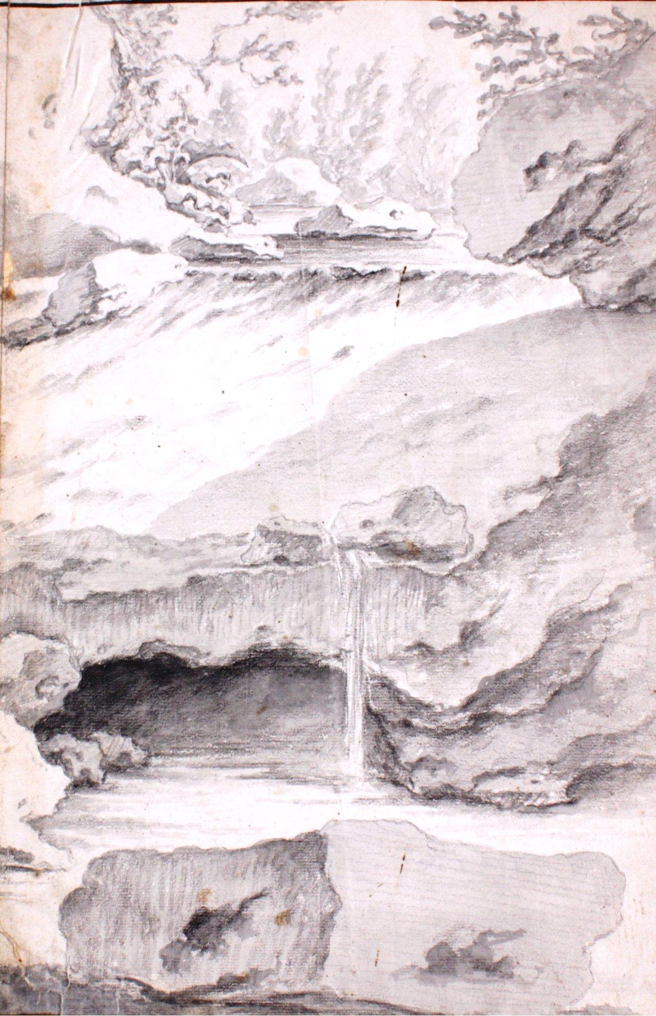 Studie Zeichnung wohl 17. Jh.-3